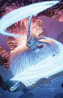 Smurfette:  Sith Lord by GarryHenderson