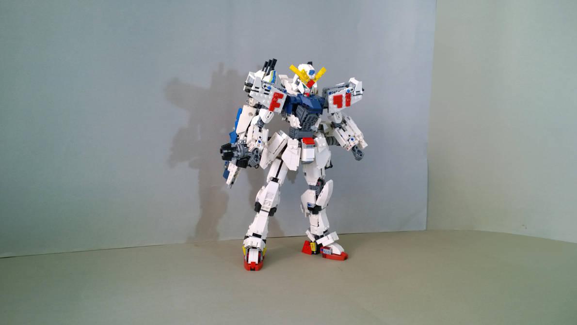 LEGO Gundam F91 by demon14082000