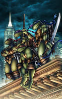TMNT by AdamWithers