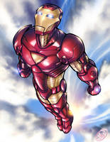 Iron Man by AdamWithers