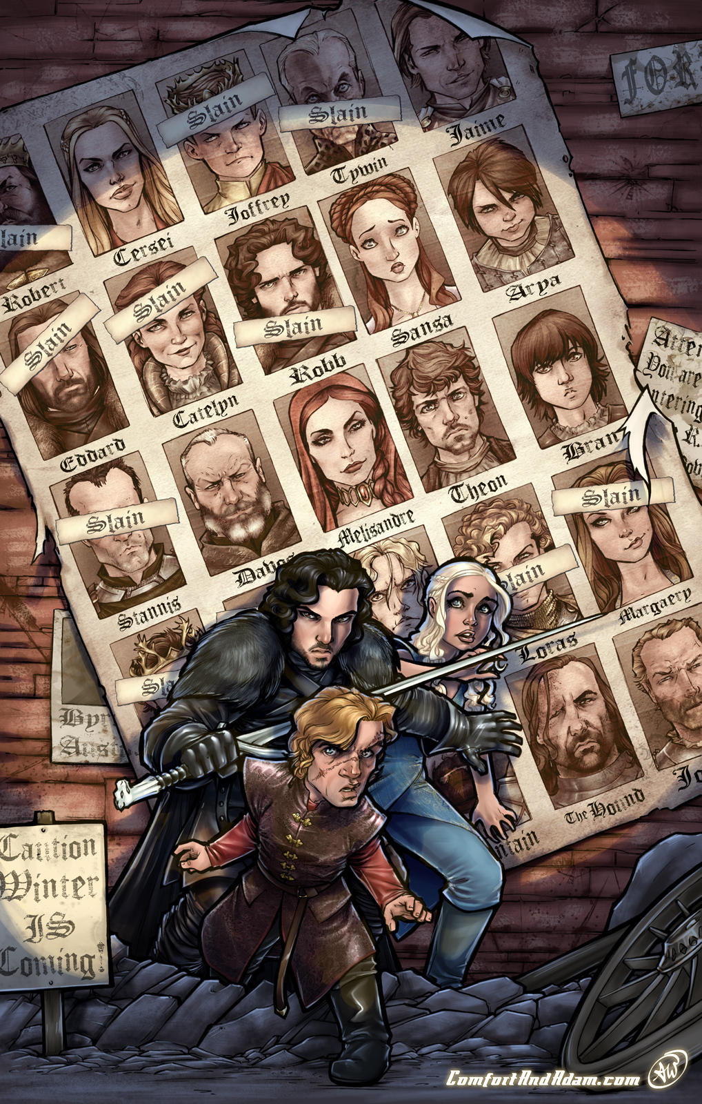 Game of Thrones (Spoilers) by AdamWithers