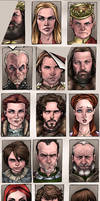 Game of Thrones Details by AdamWithers