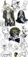 Sketch Dump 02 by AdamWithers