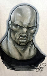 Luke Cage by AdamWithers