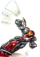 Ultimate Iron Man by AdamWithers