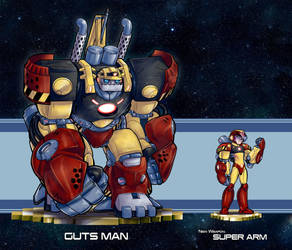 MMRedesign: DLN-004 Guts Man by AdamWithers
