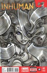Inhumans Medusa by AdamWithers