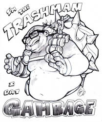 Danny DeVito is Junkrat the Trashman by AdamWithers