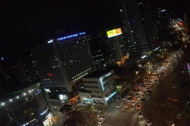 Nightlife in Seoul by Juinny