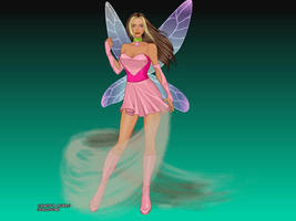 Flora from Winx Club by SuperHerioneCreater