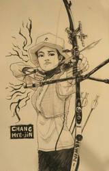 day 09 chang hye-jin by sithsensui