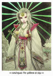 015 amaterasu the goddess of sun by sithsensui
