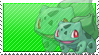 This stamp: Bulbasaur Approved by marching-queen