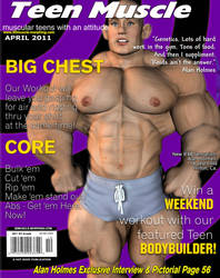 Teen Muscle Magazine April by GreysonFurrington