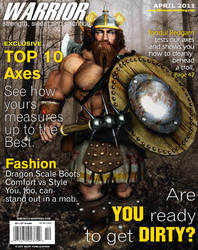 Warrior Magazine - Dwarven by GreysonFurrington