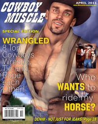 Cowboy Muscle Magazine by GreysonFurrington