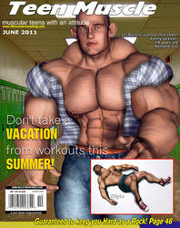 Teen Muscle Magazine June by GreysonFurrington