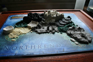 Northrend Model progress 4 by Th3Pooka