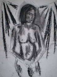 Charcoal Nude by jeuneboy