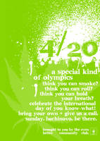 4.20 poster '08 by skycycle