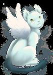 White Cat mascot by Vatina