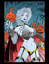 Lady Death Colored by jmintz2001