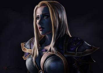 Jaina Proudmoore   World of Warcraft by EwelinaMalke