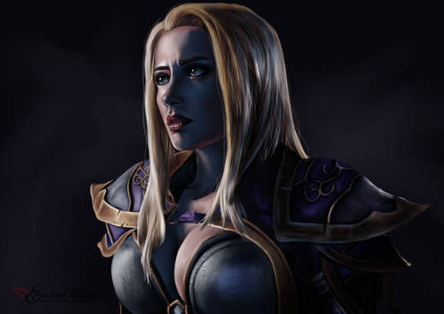 Jaina Proudmoore | World of Warcraft by EwelinaMalke