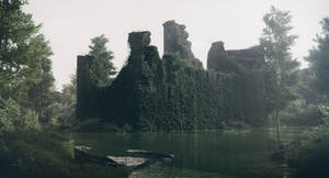 Water Castle - Day by IgnisFerroque