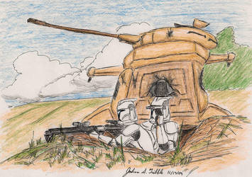 Sniping Droids Mk 2 by Tribble-Industries