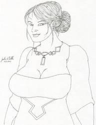 Girl Sketch 315 by Tribble-Industries
