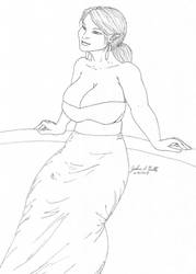 Girl Sketch 314 by Tribble-Industries