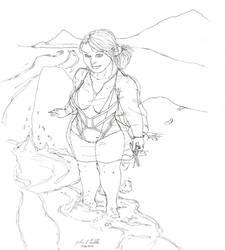 Girl Sketch 317 by Tribble-Industries
