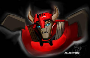 TF Prime Cliffjumper by Trans-Crystal