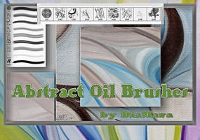 Abstract Oil Brushes by Diamara