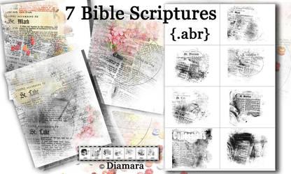 Eclectic Bible Scriptures by Diamara