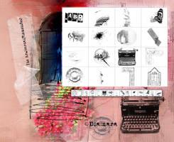 TheArtJournal Elements by Diamara