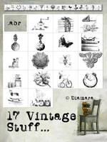 17 Vintage Stuff by Diamara