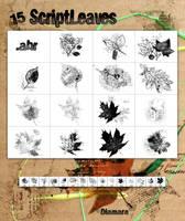 15 ScriptLeaves by Diamara