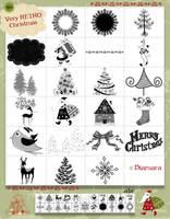 Very Retro Christmas No2 by Diamara
