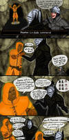 Dark souls, The quelaag misadventure (part 1) by Charleian