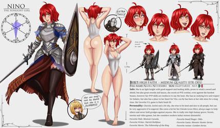 Character Sheet. Nino. by Charleian