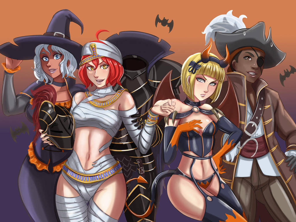 Costume Party by Charleian