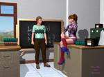 Teen Crush After School Volunteer by Agent-0013