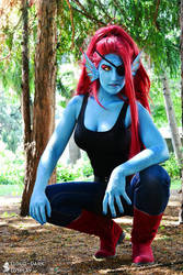 Undyne - Undertale - 2 by Link130890
