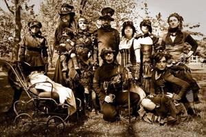 steampunk team by Zoluna