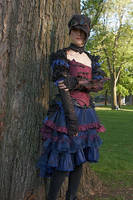steampunk lolita trash chic by Zoluna