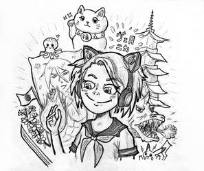 Drawing Subscribers 003 - Japanese Overload! by Surreaktor