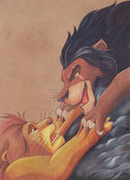 The most sad part of Lion King by Frog-FrogBR