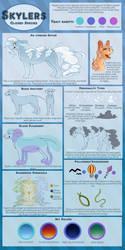 Skyler Species Reference [Closed species] by MissAbbeline